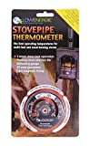 Lowenergie Stove Flue Pipe Thermometer Temperature Gauge Log Burner