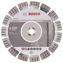 BOSCH Diamanttrennscheibe Best für Concrete, 230 x 22,23 x 2,4 x 15 mm, 2608602655