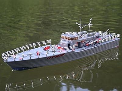 Torpedoschnellboot RC Speed Boot 50cm von AMEWI