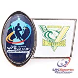 Official Cook Islands Rugby League World Cup 2013 Supporters Pin Badge rrp£6 - TROFE - amazon.co.uk