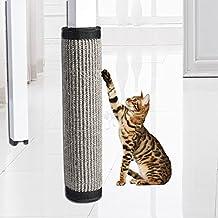 Alfombrilla para gato para tabla de rasguños, muebles, mascotas, gatos, gatos, rasguños, para mesa, sofá, patas de silla, silla de sisal, protector de patas de sofá, fijación automática, sin necesidad de correas de cama, protector de colchón