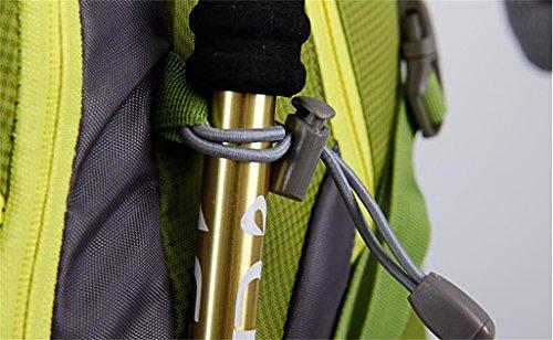 Bergsteigerbeutel-Rucksackbeutel wasserdichten Outdoor-kampierenden Rucksack Tasche Männer und Frauen 40L50L Rot