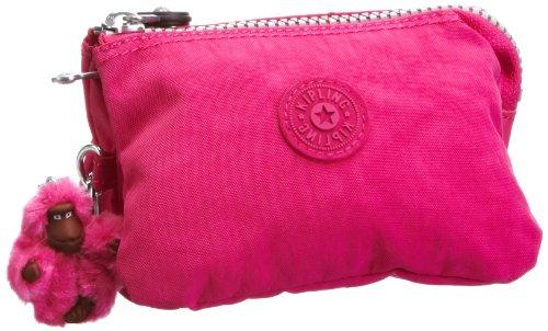 Kipling Creativity S - Pochette da giorno Donna, Pink (Verry Berry), One Size
