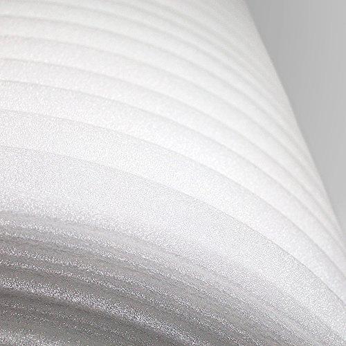 Trittschalldämmung PE-Schaumfolie Dämmung Unterlage Laminat Parkett Stärke:1mm (250m) - 3