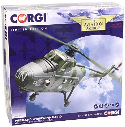 Corgi (Avions Collector) - CAA39103 - Véhicule Miniature et Circuit - Westland Whirlwind HAR10 230 SQN Wittering 1969
