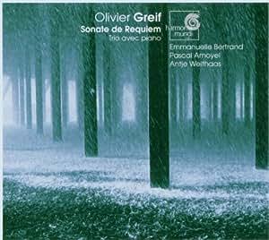 GREIF. Sonate de Requiem. Piano Trio