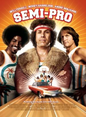 SEMI PRO - Will Ferrell Jackie Moon - Movie Wall Art Poster Print - 43cm x 61cm / 17 Inches x 24 Inches A2 (Dem Semi Moon Pro Aus Jackie)