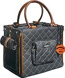 Doggy Dolly PC186 Hundetransporttasche, 30 x 37 x 24 cm, schwarz