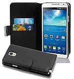Cadorabo Coque pour Samsung Galaxy NOTE 3 NOIR DE JAIS Housse de Protection Etui...