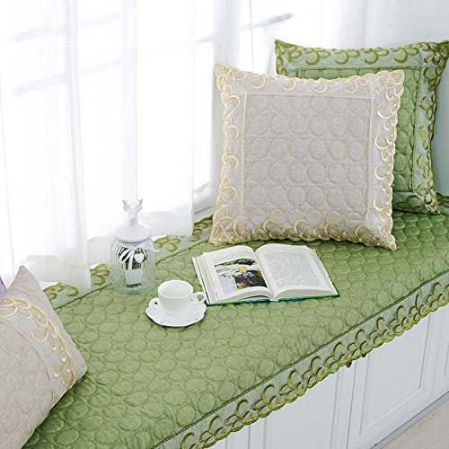 new-day-linen-floating-window-pad-lace-european-style-solid-color-non-slip-balcony-mat-pad-90120cm