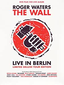 The Wall: Live In Berlin - Edition limitée (1 DVD + 2 CD) [(+2CD live album limited deluxe tour edition)]
