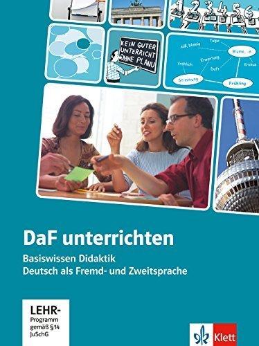 DaF unterrichten: Basiswissen Didaktik Deutsch als Fremd- und Zweitsprache mit CD-ROM. Buch + DVD-Video by Hans-Jrgen Hantschel (2013-07-01)
