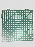 Quilted Bear- Grille de bâti MicroStitch - Design d'emboîtement - Vert (4)