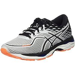 Asics Gel-Cumulus 19, Chaussures de Running Compétition Homme, Gris Glacier Grey/White/Bleu Victoria Blue 9601, 40.5 EU