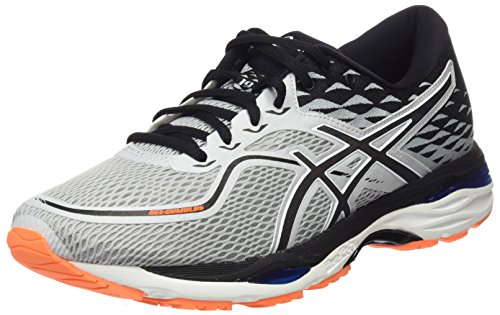 ASICS Men's Gel-Cumulus 19 Glacier Grey/White/Victoria Blue Running Shoes - 9 UK/India (44 EU)(10 US)(T7B3N.9601)