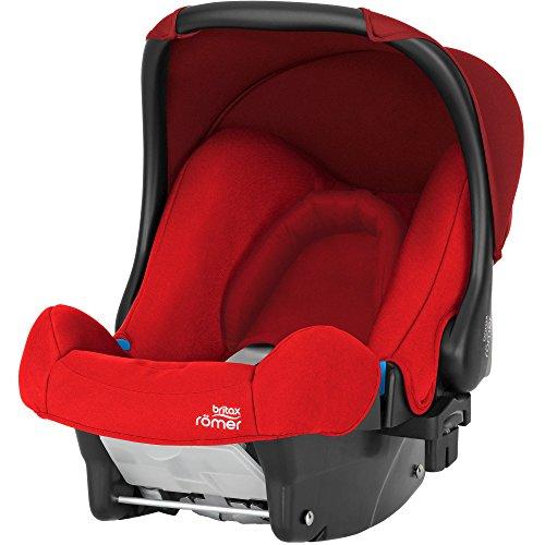 Britax Römer Babyschale BABY-SAFE, Gruppe 0+ (Geburt - 13 kg), Kollektion 2018, Flame Red