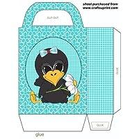 Cute cuervo bolsa de regalo 1por Stephen Poore