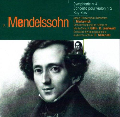 Symphony 4; Italian Violin Concert 2; Blass Ovt.