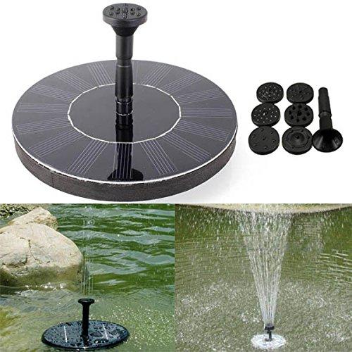 Submersible Fountain Pump Kit (Yongse 7 V Sonnenenergie Schwimm Brushless Wasserpumpe Garten Landschaft Submersible Fountain)