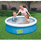 Splash And Play Round Water Pool For Kids, Blue, 57241