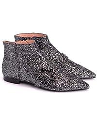 Pinko Scarpe Donna Sequins Sneakers Tessuto Ricamato Paillettes Bianco-Nero  · EUR 89 8684277aac7