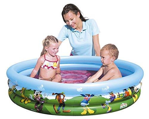 bestway-91007b-disney-piscina-hinchable-con-diseno-de-la-casa-de-mickey-mouse-122-x-25-cm-aprox