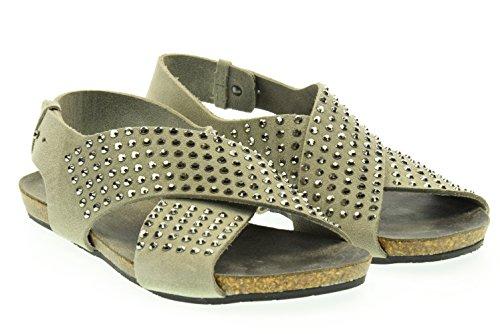 GIULIA TADDEUCCI donna sandali 43500 MAREMMA GRAFFITE 40 Grigio