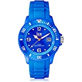 ICE-Watch - Montre Mixte - Quartz Analogique - Ice-Forever - Blue - Unisex - Cadran Bleu - Bracelet Silicone Bleu - SI.BE.U.S.09