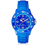 Ice-Watch - ICE forever Blue - Montre bleue mixte avec bracelet en silicone - 000125 (Small)