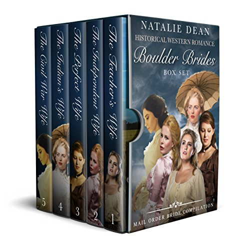 Boulder Brides Box Set: Historical Western Romance (English Edition) por Natalie Dean