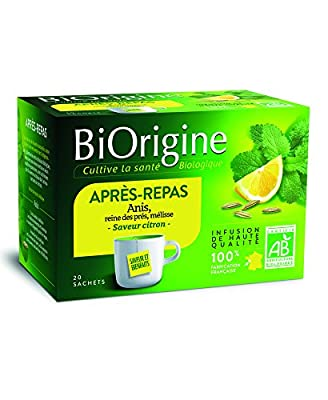 BiOrigine Infusion Après-repas 38 g - Lot de 6