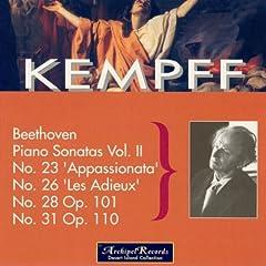 Beethoven: Piano Sonatas, Vol. 2: Nos. 23, 26, 28 & 31