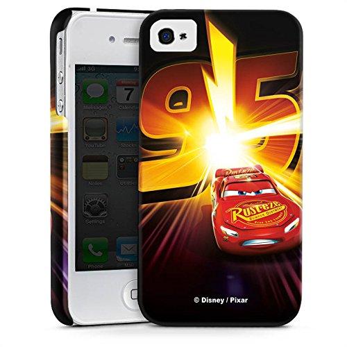 Apple iPhone 5c Silikon Hülle Case Schutzhülle Lightning Mcqueen 95 Disney Cars Disney Pixar Premium Case glänzend