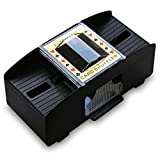 HC-Handel 910913 Kartenmischer Mischgerät Karten Mischer 2 Decks