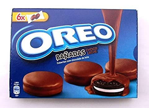Kraft OREO MILK CHOCOLATE COOKIES Dipped / Covered (SPECIAL EDITION) 8.67oz x 3 boxes by Kraft Foods / Mondelez International