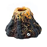 TBH Forever Fisch Tank Ornament Decor Aquarium Volcano Form und Air Bubble Stein Sauerstoff Pumpe (klein)