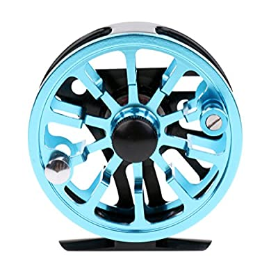 Sharplace Fly Reels Lightweight 2+1BB Fly Fishing Reels CNC Machined Aluminum Alloy Fishing Reel from Sharplace