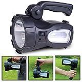 Lampe Torche Puissante XAGOO Torche Lampe de Poche 3W 160 Lumens 2300mA, Lanterne LED Rechargeable, Projecteur Portable Led Etanche IP55 pour Randonné / Pêche / Camping