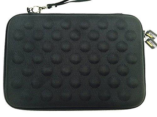 az-cover Bluetooth Tablet halbstarr EVA Bubble Schaumstoff-Hülle (schwarz) mit Handschlaufe für Fire HD Kids Edition Essentials Fire Kids Edition 17,8cm Display + One kapazitivem Eingabestift