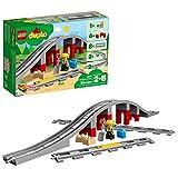 LEGO Dulpo 10872 - Eisenbahnbrücke mit Schienen (26 Teile) - 2018