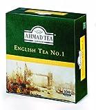Ahmad Tea English Tea No. 1 (Pack of 1, Total 100 Tea Bags) by Ahmad Tea