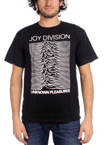 Joy Division Unknown Pleasures maglietta adulto Black Large