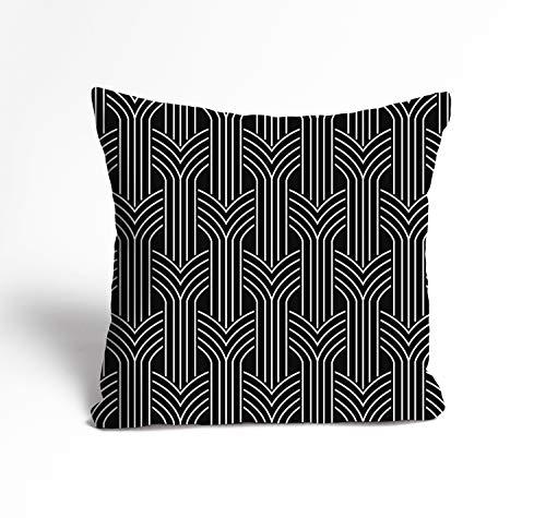 Design-Kissenbezug \'Sordan\' mit Digitaldruck | Dekokissen-Hülle mit Reißverschluss | Traumkissen | Kuschelkissen-Hülle | Deko | Cocktailkissen | Cushion | Cover | Überzug | Pillowcase, Größe:50x50 cm