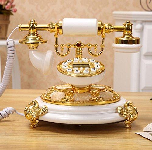 Antique continental vecchio telefono - stile retrò pastorale fissa dimora - linea telefonica ( colore : a )