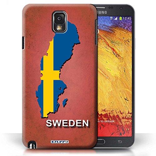 Kobalt® Imprimé Etui / Coque pour Samsung Galaxy Note 3 / Australie conception / Série Drapeau Pays Suède/Suédois