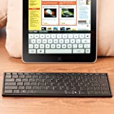 GeneralKeys Bluetooth Mini Keyboard: Mini-Tastatur für iPad & andere Geräte mit Bluetooth (Bluetooth Tastatur für Smartphone Tablet PCs)