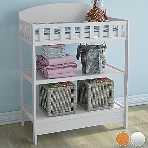 Infantastic - Cambiador para bebés con barrotes de protección - dos colores a elegir