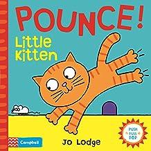 Pounce! Little Kitten: An Interactive Story Book (Little Movers)