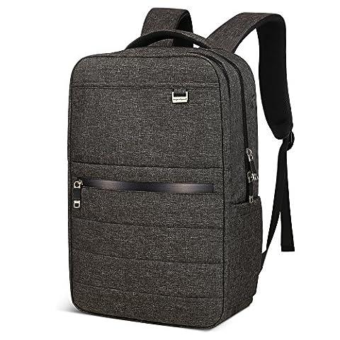 Aspen AS-B68 Business Laptop Rucksack 15.6-17 Zoll Anti Diebstahl Wanderrucksack Sportrucksack Wasserdicht Reiserucksack Schulrucksack Mädchen Herren Damen