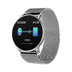 A-Artist Smartwatch 1.33 Zoll Farbbildschirm Intelligente Sportuhr Wasserdicht Fitness Tracker mit Herzfrequenz Schlafmonitor und Kalorienzähler mit Schrittzähler Pulsuhr für iOS Android